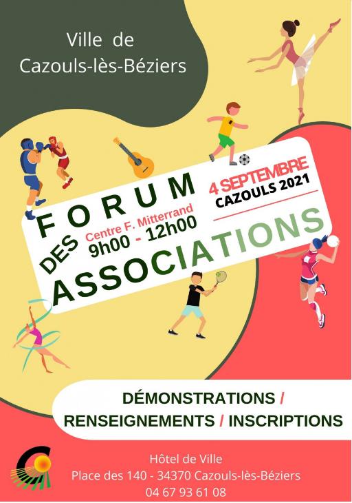 Journée des associations CAZOULS